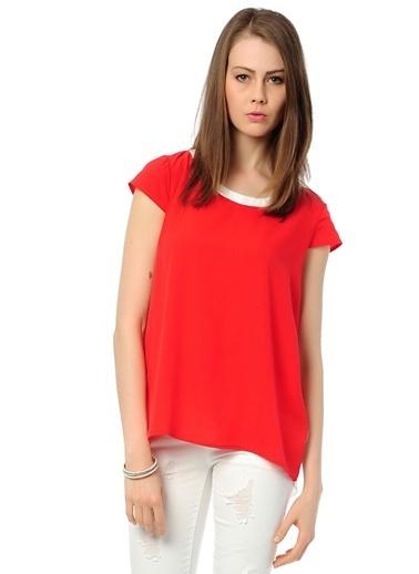 Mia Bluz Kırmızı